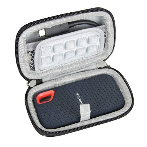 Hermitshell Hard Travel Case für SanDisk 500GB / 250GB / 1TB / 2TB Extreme Portable SSD (SDSSDE60)