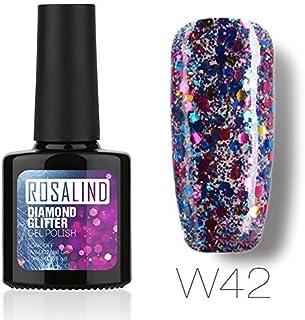 ROSALIND gel esmalte de uñas serie diamante Soak Off UV LED esmalte manicura pedicura salon 10 ml