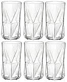 Bormioli Rocco Cassiopea Trommel Glasses - 480ml (16.25oz) - x6