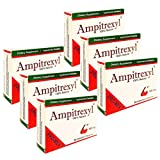 Ampitrexyl 500mg x 6 Pack - Herbal Immune Support Supplement Promex Ampitrexyl; 30 Capsules Each (180 Capsules Total)