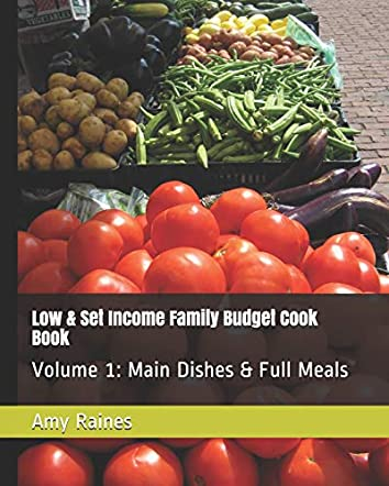 Low & Set Income Family Budget Cook Book