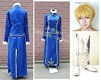 コスプレ衣装 Fate/Prototype アーサー・ペンドラゴン/Saber +ウイッグ+靴 ネット付 フルセット