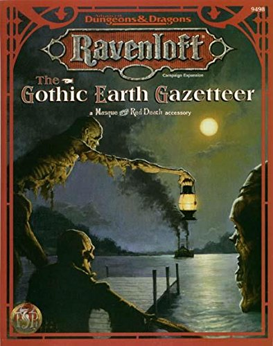 The Gothic Earth Gazetteer (Ravenloft Masque of the Red Death Accessory)