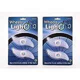 JohnToy 20630 Speichen-Beleuchtung, 2 stück auf Karte, Mehrfarbig