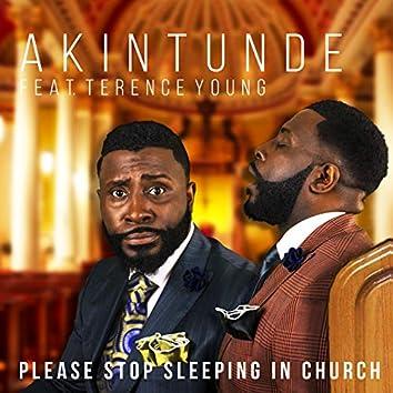 Please Stop Sleeping in Church