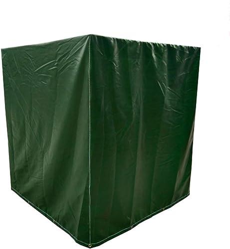 Qing MEI Toile De Jardin pour Meubles De Prougeection pour Meubles en Toile Oxford, (Couleur  Vert, Taille 11) (Taille   120x120x85cm)
