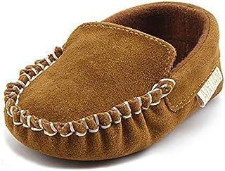 Anrenity Baby Loafer Infant Toddler Boys Girls Soft Slip On Classic Boat Shoes
