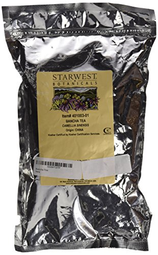 Starwest Botanicals Organic Bancha Green Tea -- 1 lb