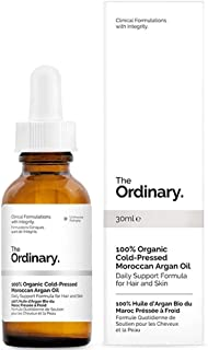 THE ORDINARY 100% ORGANIC COLD-PRESSED MOROCCAN ARGAN OIL-30ml- The Original Ordinary From Canada