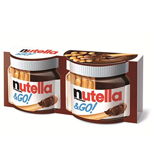 Nutella & Go 72 Packages With Each 52 Grams by Ferrero Nutella
