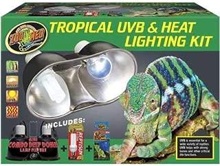 aquatic turtle uvb & heat lighting kit