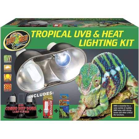 Price comparison product image Zoo Med Tropical UVB Heat Lighting Kit