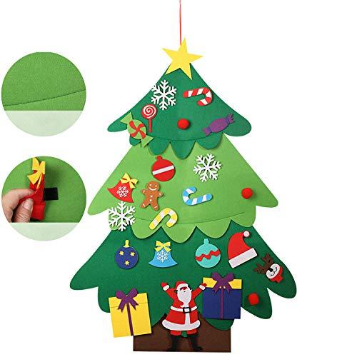 10pcs DIY Holz Schneeflocken Weihnachtsbaum Wandbehang Ornamente Wohndeko Wzx