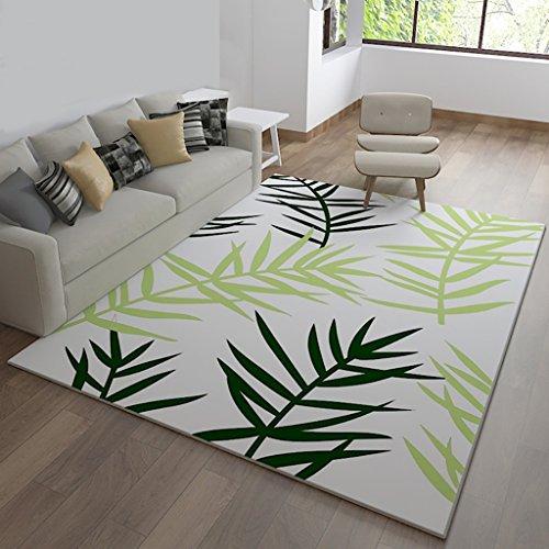 Creative Light Modern Simple Pastoral Living Rectangle Tapis Chambre à Coucher Couvre-lit Sofa Table à café Tapis (Taille : 160cm*230cm)