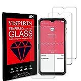 YISPIRIN [3 Piezas] Cristal Templado para Ulefone Armor 7E, Dureza 9H, Anti - arañazos Anti-Rasguño,Fácil de instalar, Vidrio Templado Protector de Pantalla para Ulefone Armor 7E
