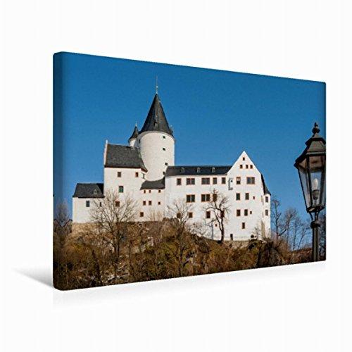 Premium Textil-Leinwand 45 x 30 cm Quer-Format Schwarzenberg, Leinwanddruck von wkbilder