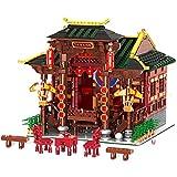 Nlne Juegos De Construcción De Casas Modulares, Juego De Construcción De Casas De Ópera China Retro De Arquitectura, Bloques De 3820 Piezas Compatibles con Otras Marcas