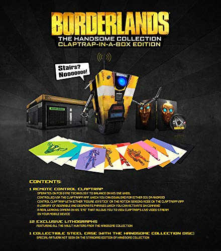 Borderlands : The Handsome Collection - Claptrap-in-a-box Edition