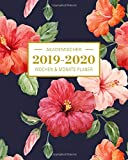 2019-2020 Akademischer Wochen- und Monatsplaner Hibiscus: Terminkalender Organizer, Studienplaner und Notizbuch mit inspirierenden Zitaten  August ... Juli 2020 (Planer Organizer, Band 4)