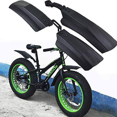 naranja 2 guardabarros traseros y 1 delantero Defensa de bicicleta de NICEDACK para bicicleta de MTB o de BMX