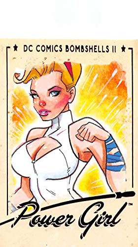 2018 Cryptozoic DC Bombshells Series 2 Trading Card #14 Power Girl Official DC Comics Collectible Card