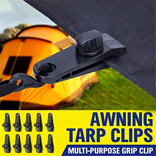 Fixed Plastic Clip for Outdoor Tent 10 PCS