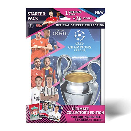 Topps UEFA Champions League Sticker 2020/21 – Starter-Set