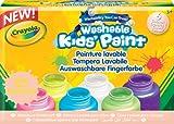 Crayola - 6 pots de peinture fluo lavable - Peinture et accessoires - 256326.006
