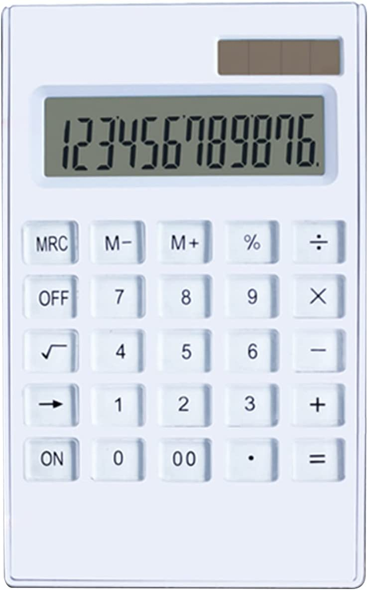 Calculator Desktop New Orleans Mall Ultra-Thin SEAL limited product 12 Digits Display Large