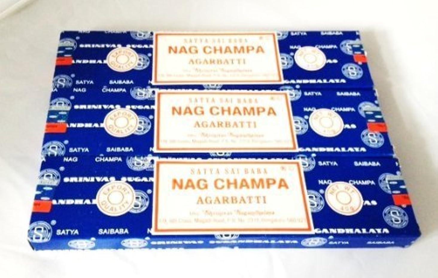 平行それに応じて送ったSatya Nag Champa Incense Sticks 40 Gram 3 Pack by Satya [並行輸入品]