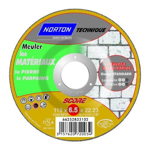 Mit Nabenschaltung déporte Ebarbage Norton score Material Technische 6,5 x 115 x 22,2 mm