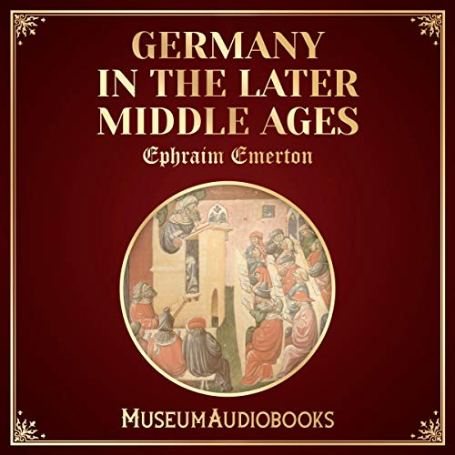 『Germany in the Later Middle Ages』のカバーアート