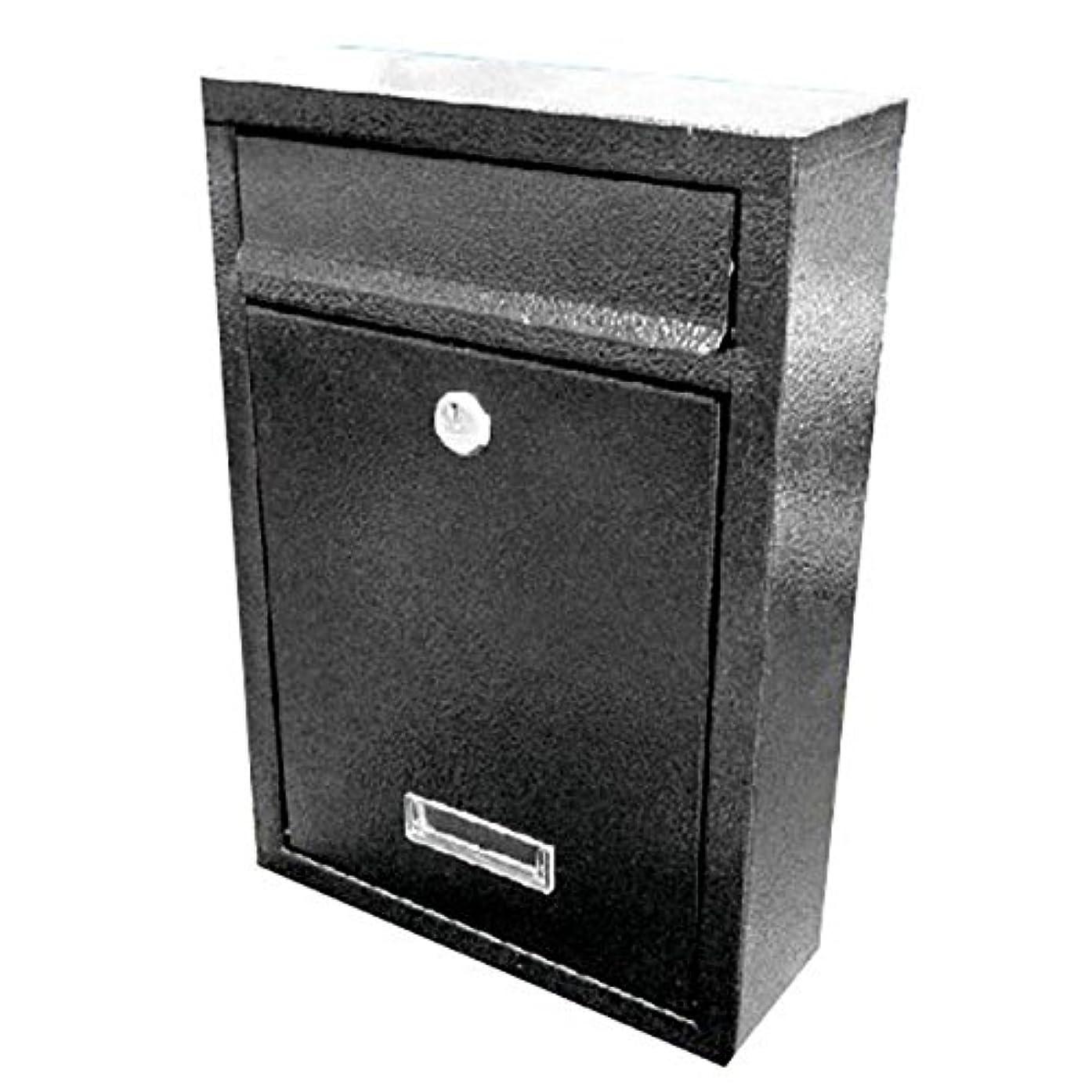 ステージ考えパールSTARDUST シンプル デザイン 郵便 ポスト 【ブラック】 SD-SPOST-BK