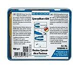 WEICON Resina epossidica pastosa 400 g composto per riparazioni universale impastabile in un pacchetto completo