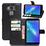 Asus Zenfone 3 MAX Plus ZC553KL(5.5') Coque, EUGO Flip Housse Étui coque de...