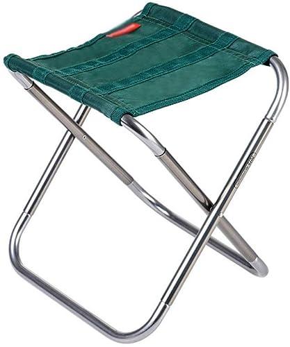 DLINMEI Tabouret Pliant portatif, Chaise Pliante extérieure, Mini-Tabouret de Loisir Ultra-léger, Chaise de Croquis de pêche pour Adultes Mazar