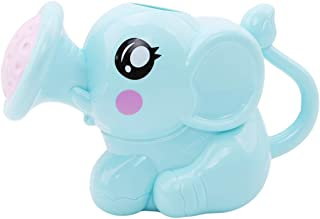 LALANGCute Little Elephant Sprinkler Baby Bath Toy Water Sand Tool Gift for Children(Blue)