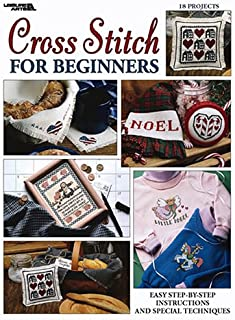 Cross Stitch For Beginners  (Leisure Arts #2072)