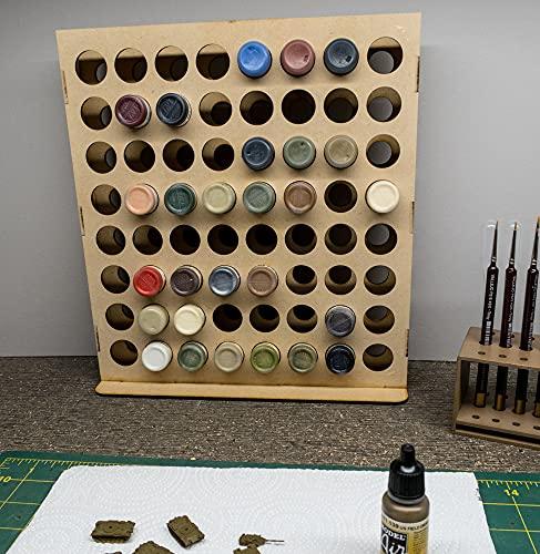 GameCraft Miniatures Vertical Paint Rack - 26mm,...