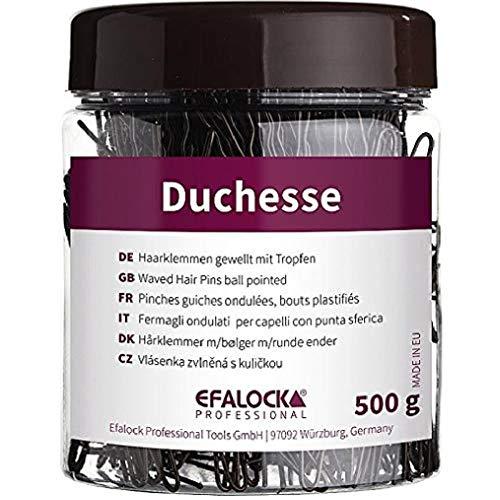 Efalock Professional Duchesse Haarklemmen, 5 cm, 500 g, braun, 1er Pack, (1x 0,5 kg)