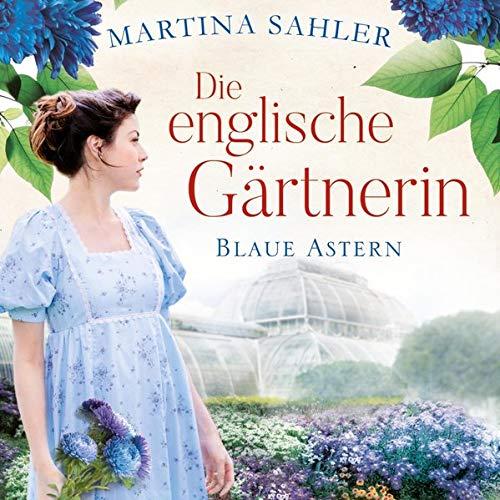 Die englische Gärtnerin - Blaue Astern Titelbild