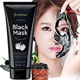 AsaVea Black Mask Peel off Mask, Charcoal Purifying Blackhead Remover Mask Deep Cleansing for Acne & Acne Scars, Blemishes, Anti-Aging, Wrinkles, Organic Activated Charcoal