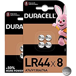 Calculators and Measurement Devices 76A//A76//V13GA INFINIFUN I3810 My First Electronic Toy Keys Pack of 8 Designed for Use in Toys Duracell Specialty LR44 Alkaline Button Battery 1.5 V,