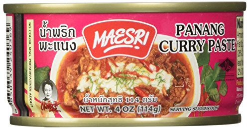 Maesri Thai panang curry, 4 Ounce (Pack of 2)