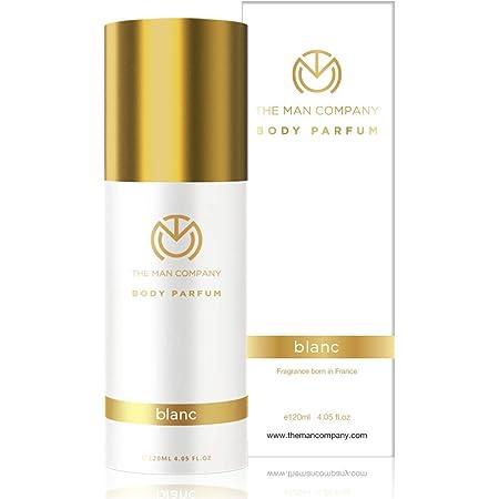 The Man Company Non-Gas Body Perfume For Men - Blanc (120 Ml) | No Gas Deodorant | Long Lasting Fragrance | Body Spray For Men
