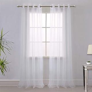 "43/"" wide white 110 cm 100/% cotton Fine light weight voile semi-sheer"