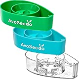 AvoSeedo Bowl Grow Your Own Avocado Tree, Evergreen, Perfect Avocado Tree Growing Kit for Every Avocado Lover - Green, Blue Transparent