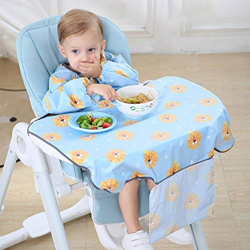 Babero para recién nacidos, cubierta para mesa, silla de comedor para bebés, vestido impermeable, toalla de saliva, delantal para eructos, accesorios para la alimentación de alimentos