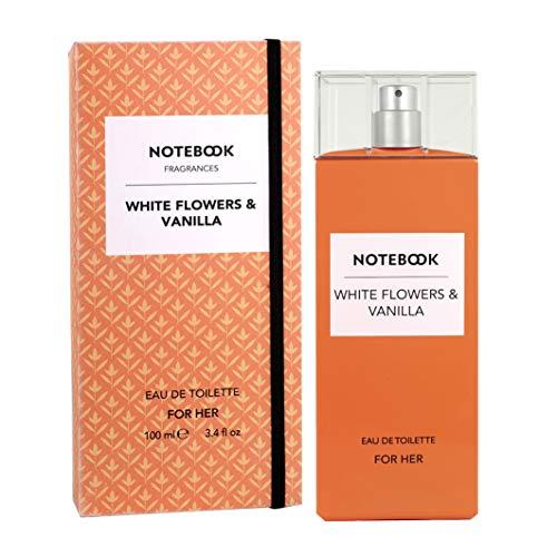 Notebook White Flowers & Vanilla – 100 ml