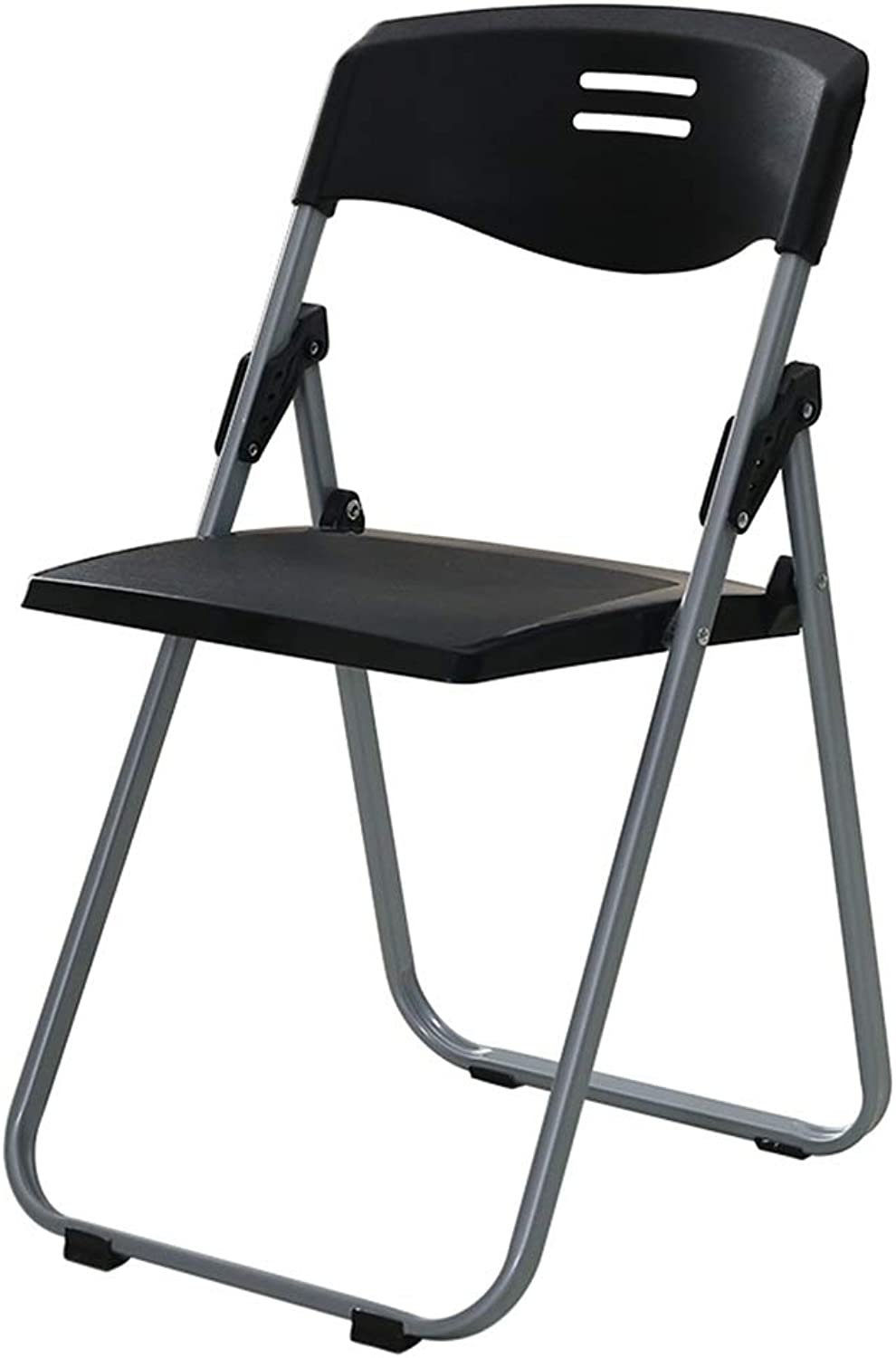ZAHOYONGLI Chairs,Folding Chairs Folding Breakfast Padded Bar Chair Stool Kitchen Party Office Stool Seat (color   Black, Size   37  41  79-104cm)